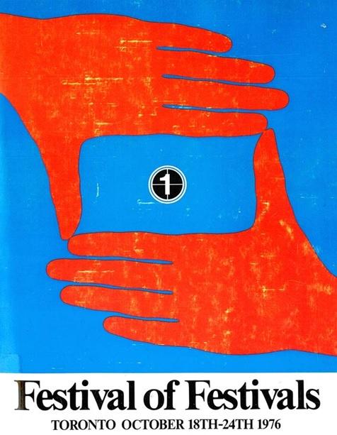 1976年,第一屆多倫多電影節海報