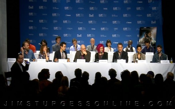 《雲圖》2012盛大全球首映,罕有的全明星陣容坐了兩排