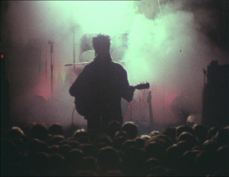 《Echo and the Bunnymen: Shine So Hard》(John Smith,1981),圖片由藝術家及LUX提供